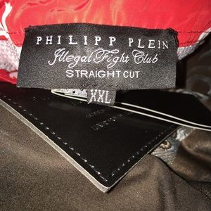 Philipp Plein Swim - Men Philipp Plein Straight Cut Limited Trunks 2X